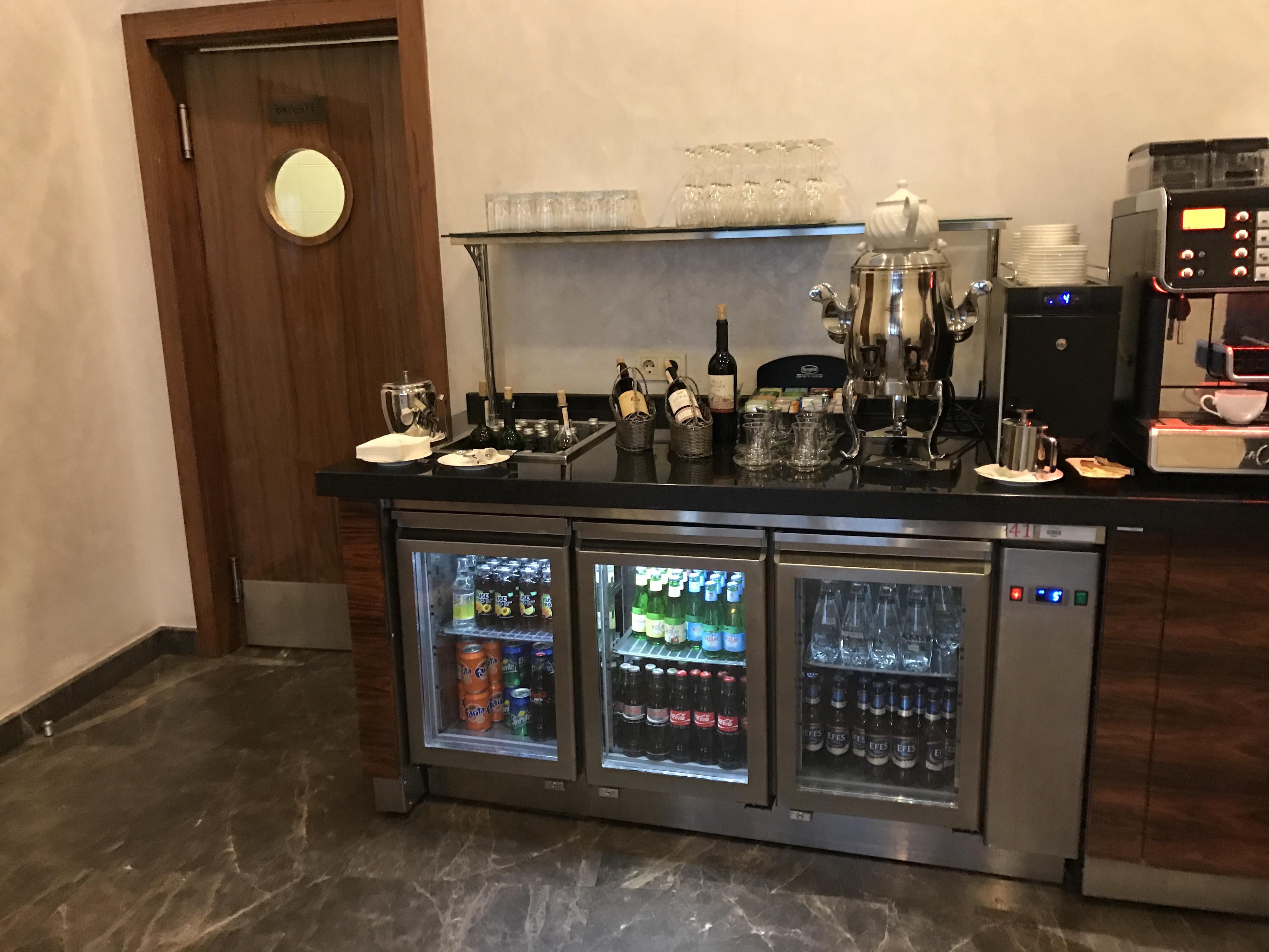 Conrad Istanbul Executive Lounge
