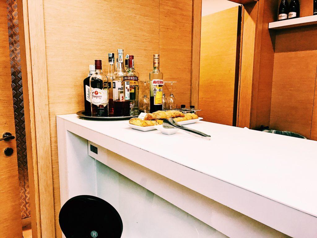 Casa Alitalia Lounge Rom Terminal 3 Bar
