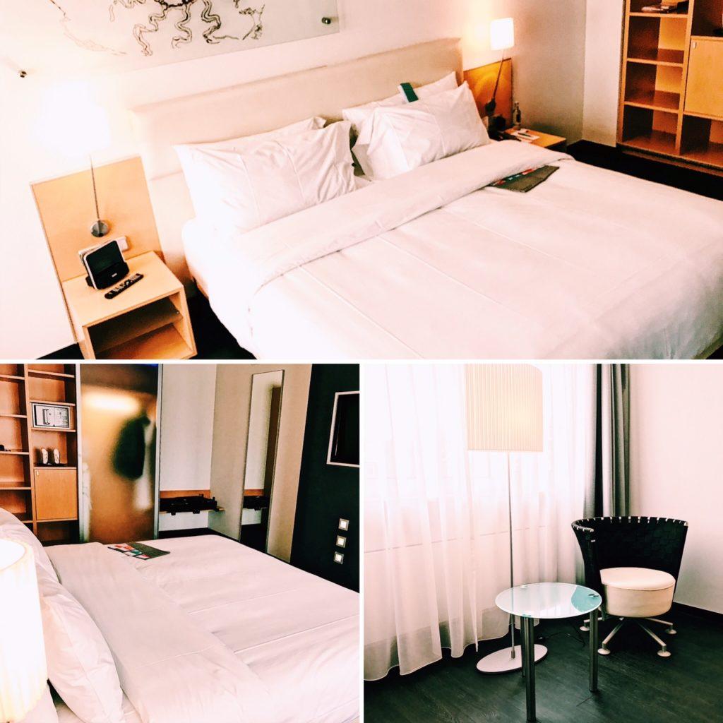 Le Meridien Frankfurt Deluxe Zimmer Schlafzimmer