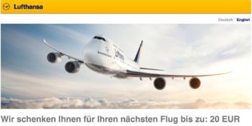 Lufthansa Gutschein Ostern 2017