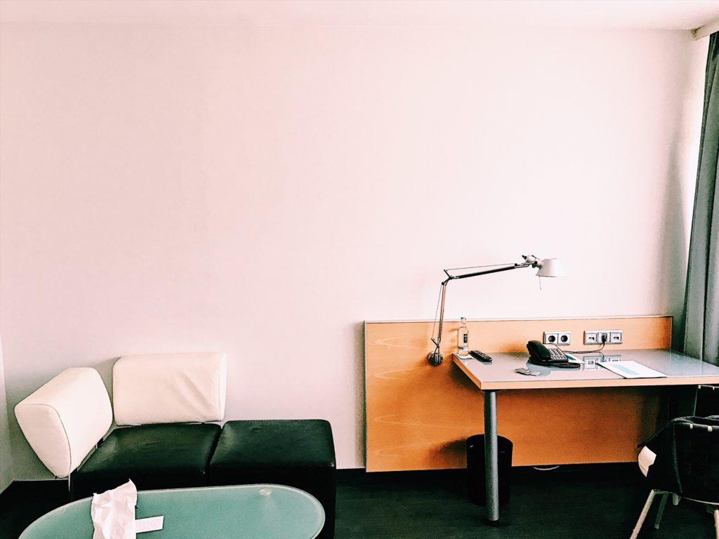 Le Meridien Frankfurt Deluxe Zimmer Wohnzimmer