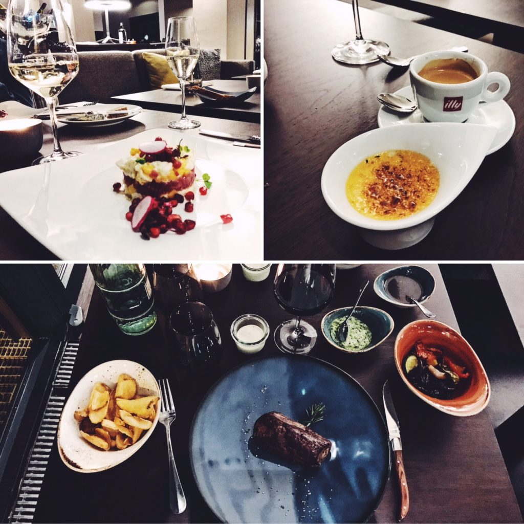 Le Meridien Frankfurt Legacy Restaurant dinner