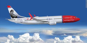 Norwegian Boeing 737 MAX Delivery Flight