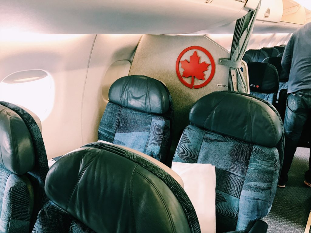 Air Canada Express Business Class Kabine