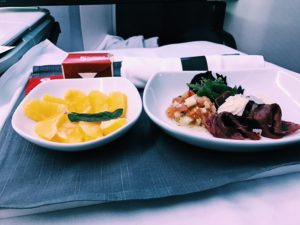 Air Canada Business Class Boeing 777 Snack