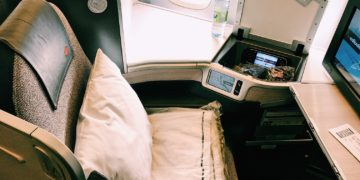 Air Canada Business Class Boeing 777 Sitz