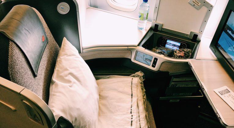 Air Canada Business Class Boeing 777 Sitz