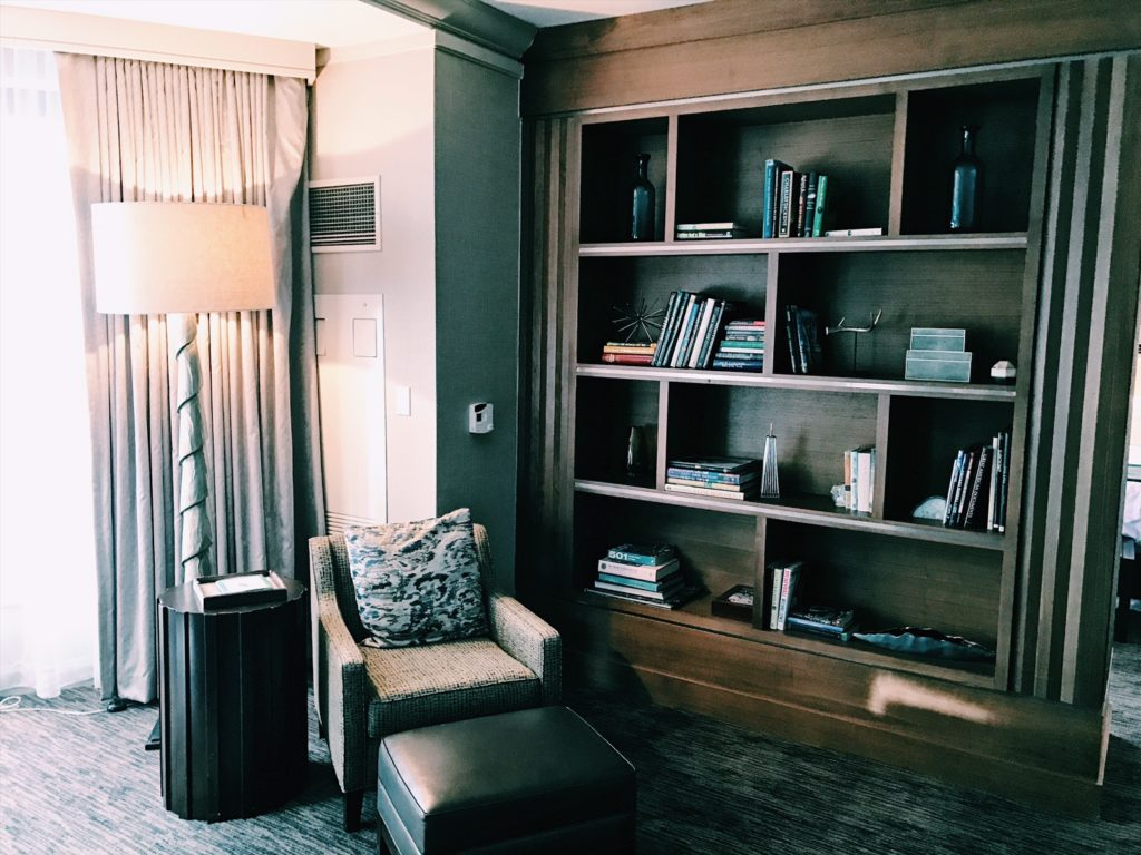 The Westin Chicago River North Presidential Suite Study