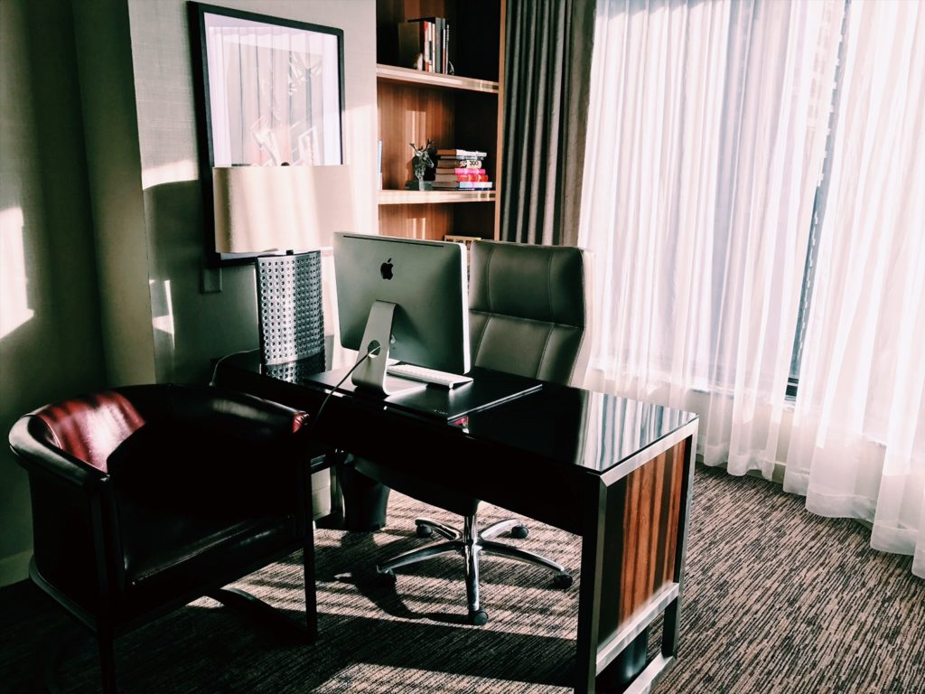 The Westin Chicago River North Presidential Suite Desk