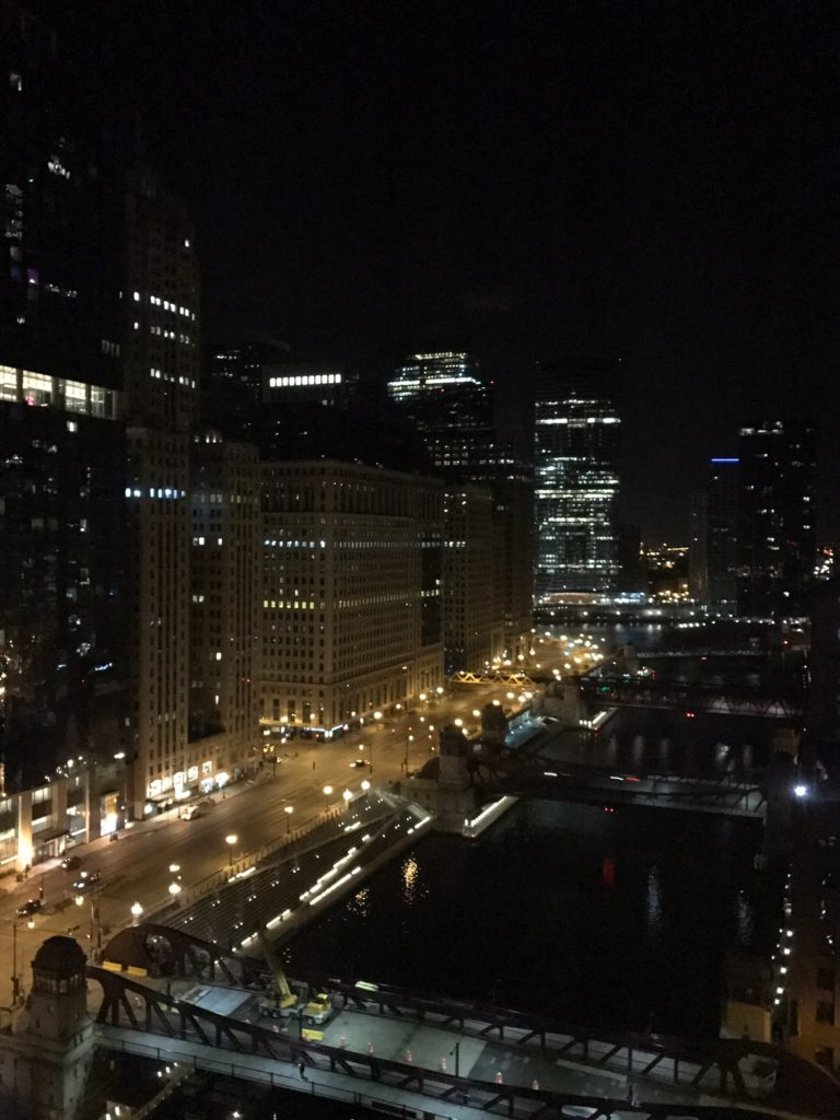 The Westin Chicago River North Presidential Suite Ausblick