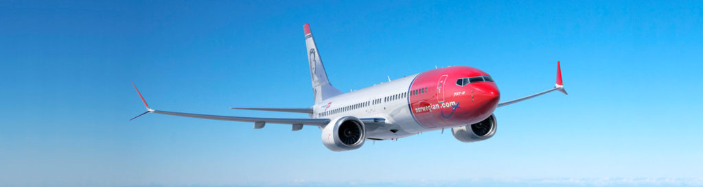Norwegian Boeing 737 MAX Delivery Flight