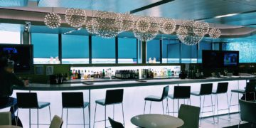 United Club Chicago O'Hare Terminal 2 Bar