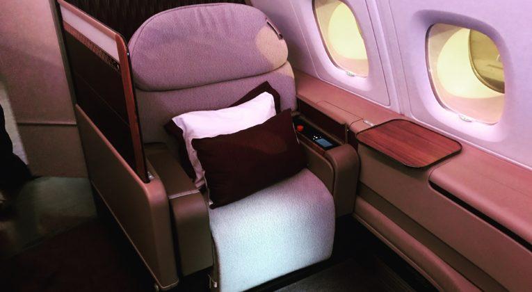 InsideFlyer wochenrückblick Qatar First Class Review