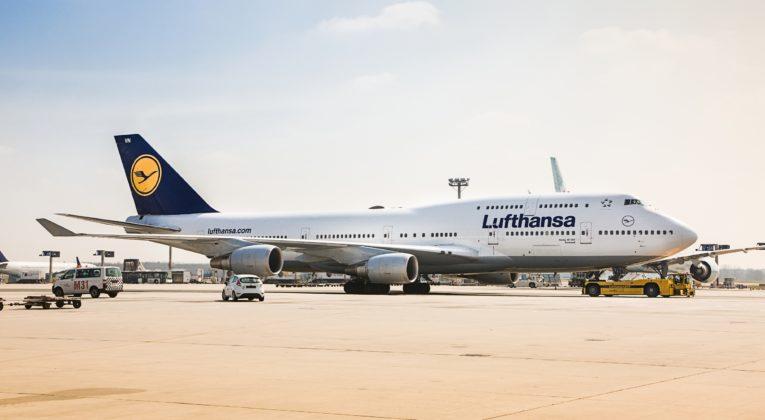 InsideNews Lufthansa mit 747 nach Tegel