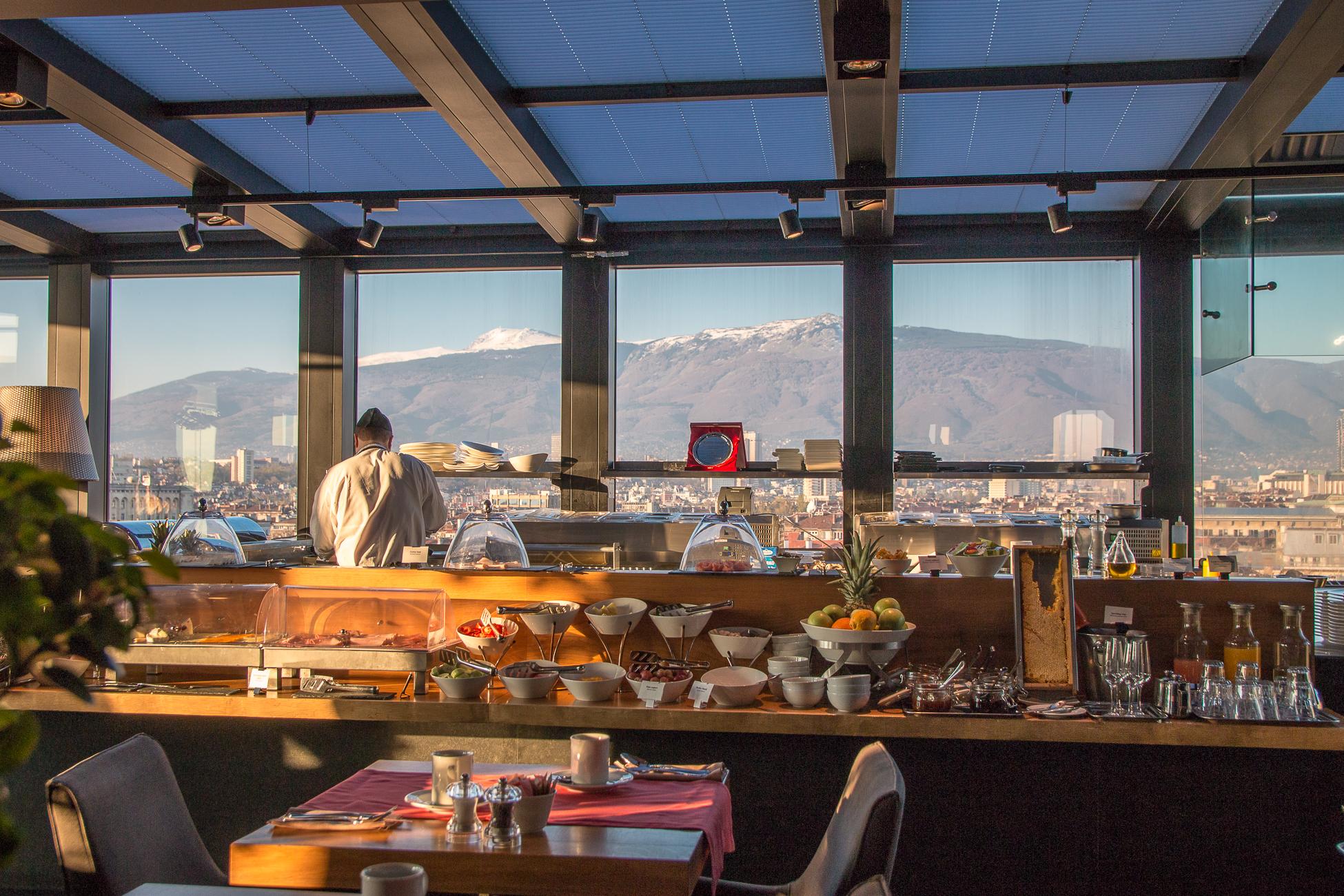 Sense Hotel Sofia - Das Frühstück