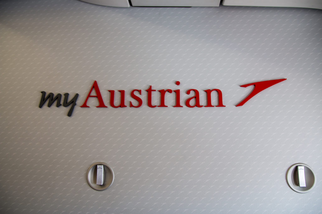 Austrian Airlines Business Class Airbus A319