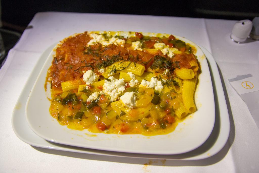 Hauptgericht Pasta mit Mediterranen Gemüse