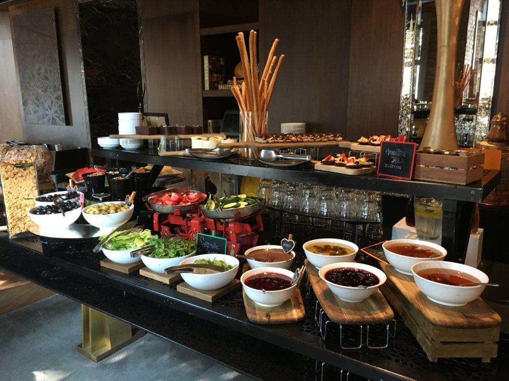 W Istanbul Frühstück