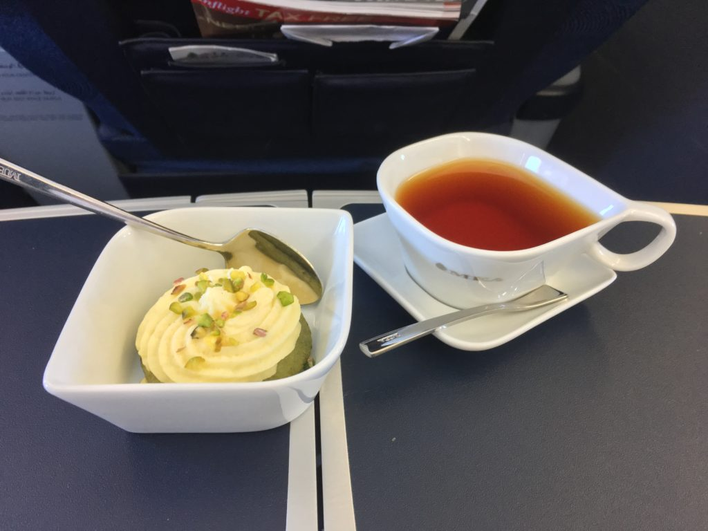 Middle East Airlines Business Class Catering