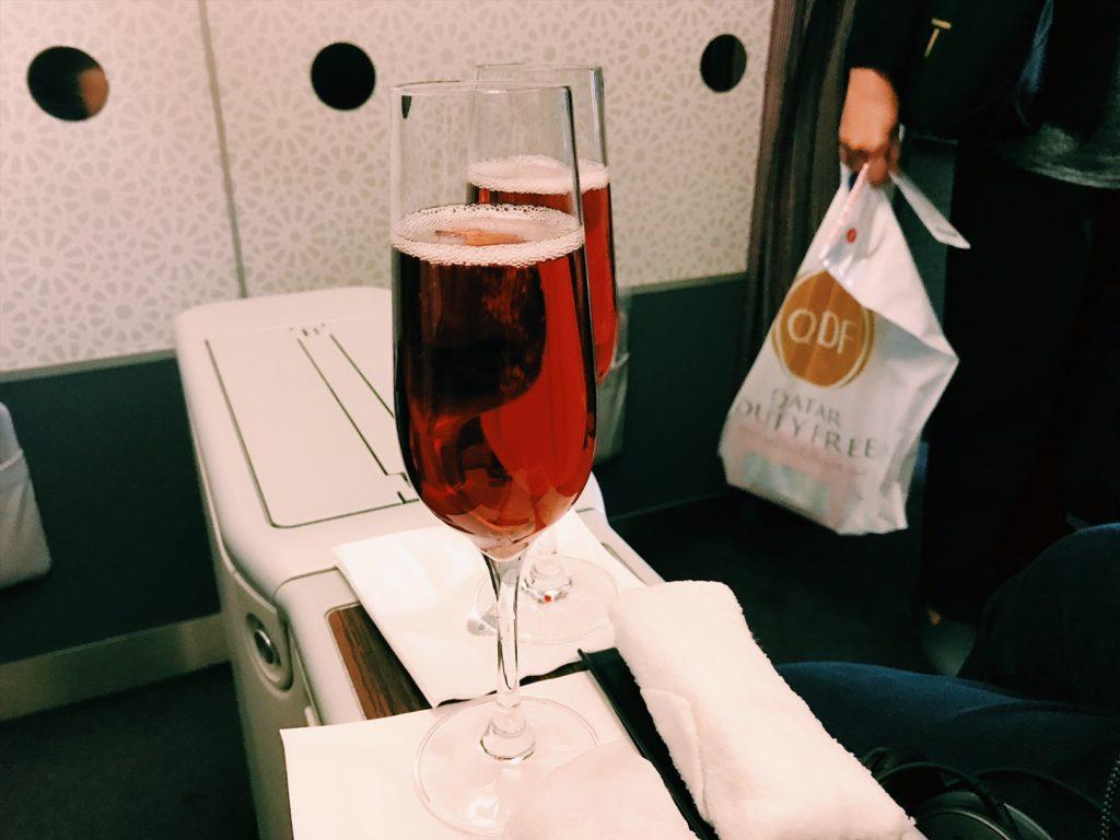 InsideFlyer Wochenrückblick qatar champagner