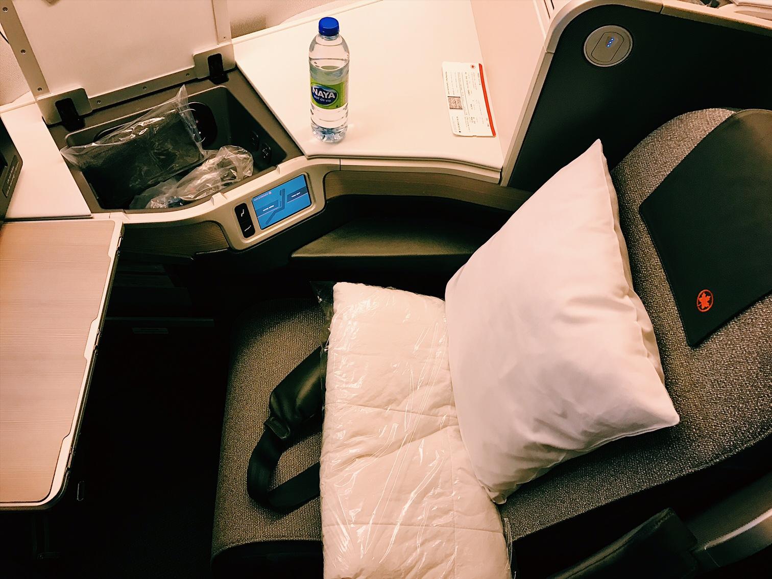 Air Canada Business Class Review InsideFlyer Wochenrückblick