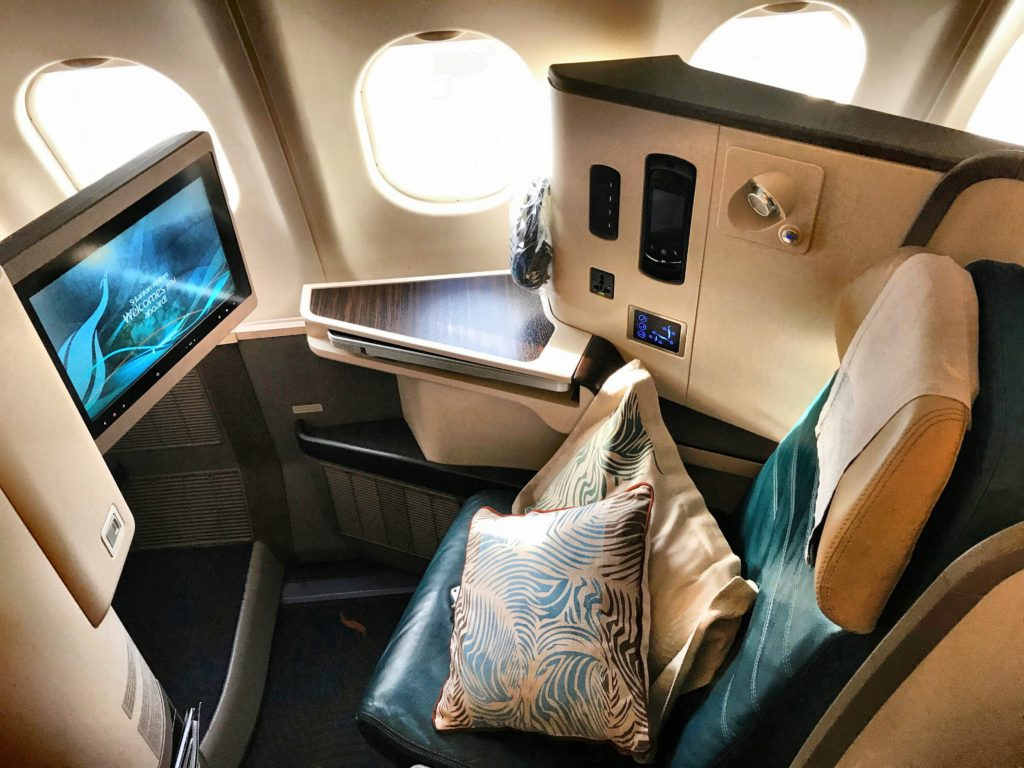 SriLankan Airlines Business Class A330 Sitz