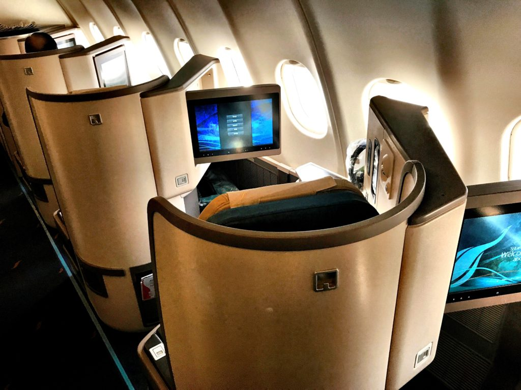 SriLankan Airlines Business Class A330 Kabine
