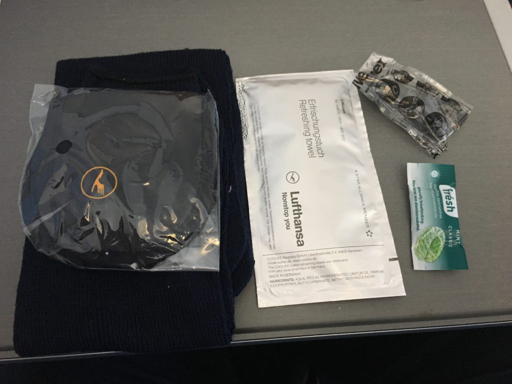 Lufthansa Business Class Mittelstrecke Amenity Kit