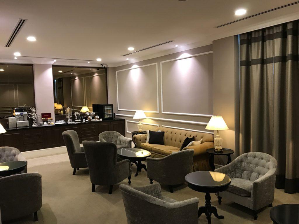 Hotellounge im Hotel Majestic