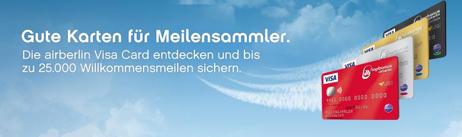 airberlin Kreditkarte InsideFlyer Wochenrückblick