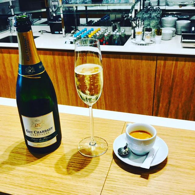 Lufthansa streicht Champagner in den Senator Lounges