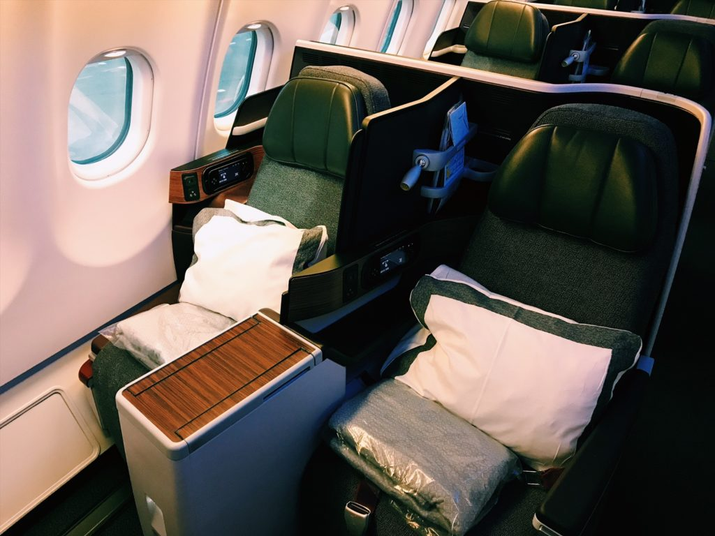 Qatar Airways Business Class Airbus A330 Sitz