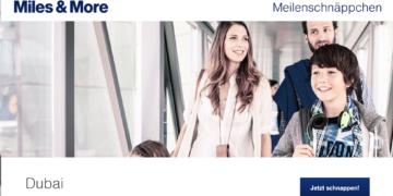 Lufthansa Meilenschnäppchen August 2017