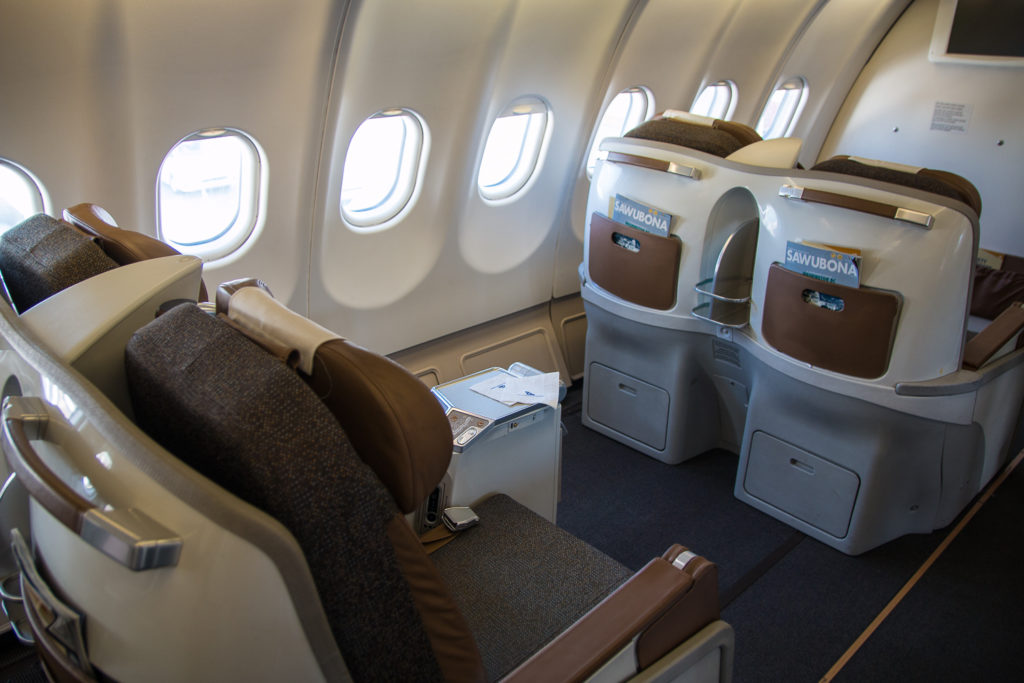 South African Airways Business Class Airbus A330-200