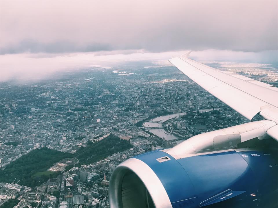 InsideFlyer Wochenrückblick London Anflug