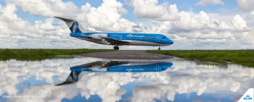 InsideNews KLM Flottet Fokker 70 aus