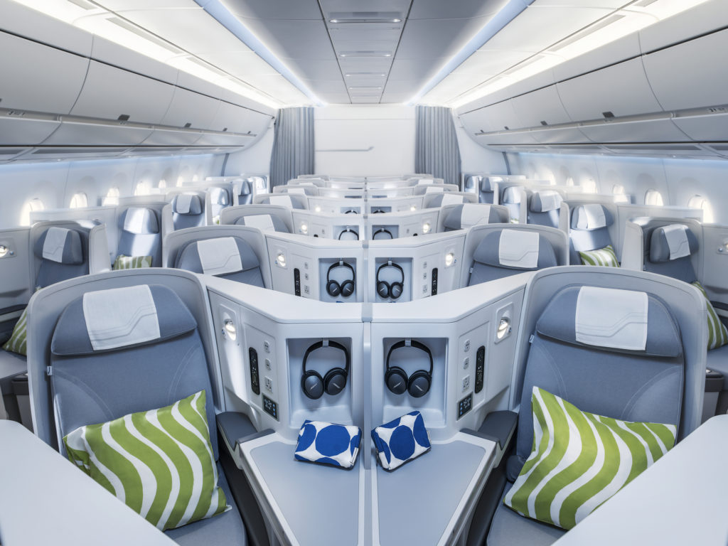 Finnair Business Class A350