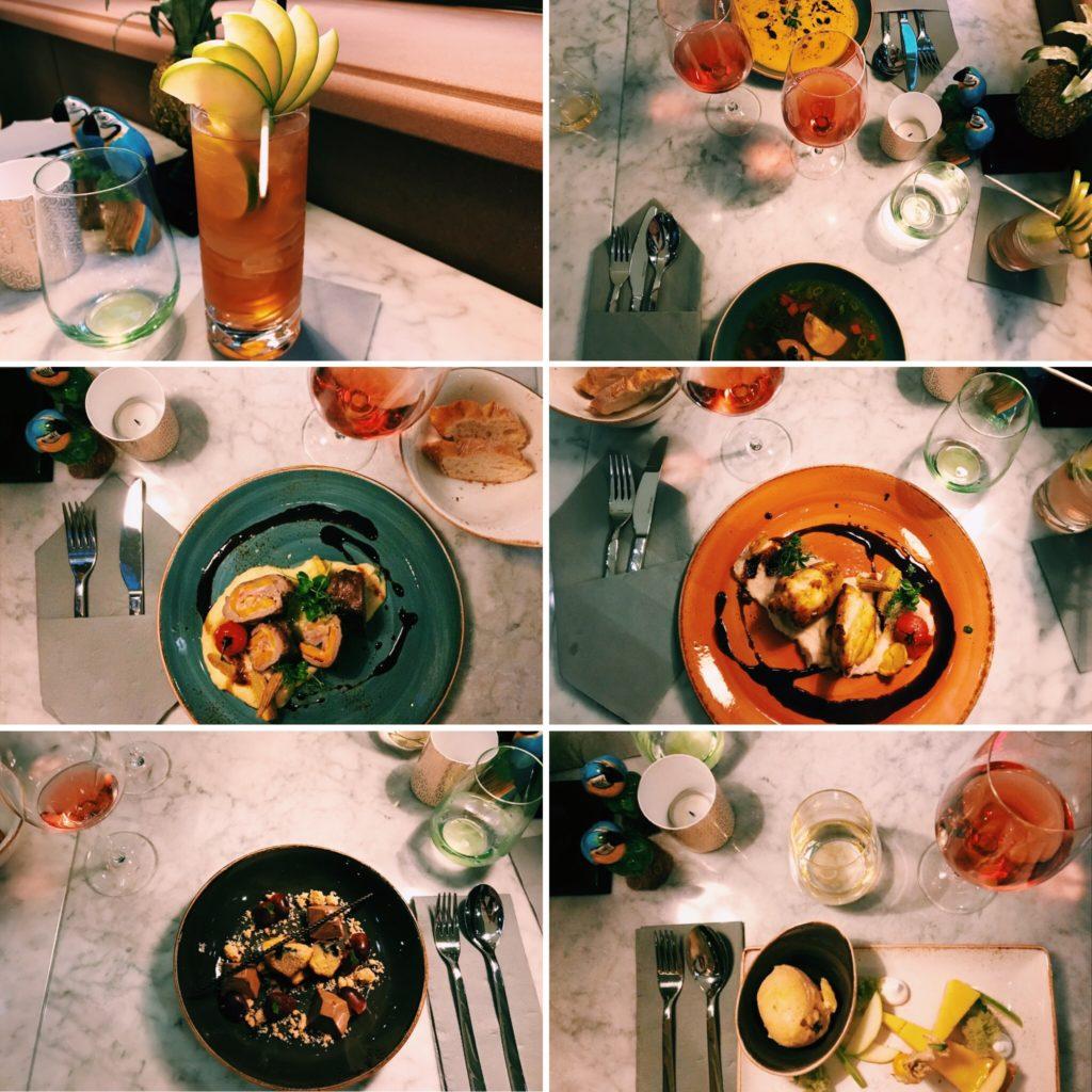 AC Hotel Mainz Dinner im Restaurant Adam & Eden