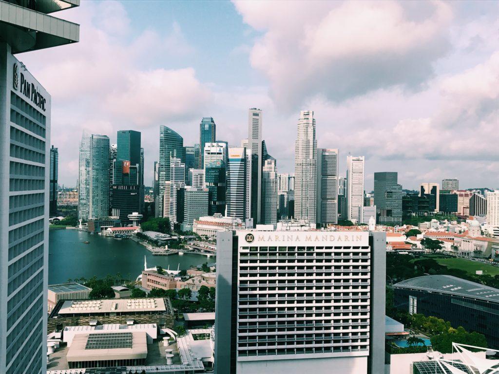 Conrad Singapore Ausblick