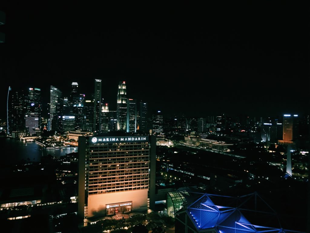 Conrad Singapore Aussicht