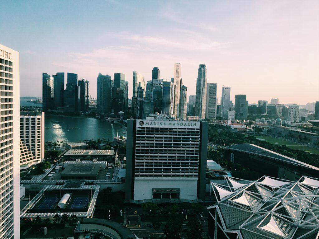 Conrad Singapore Executive Lounge Aussicht