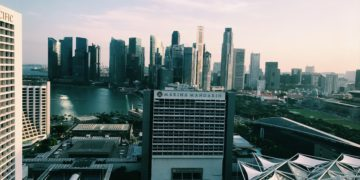 Conrad Singapore Executive Lounge Aussicht