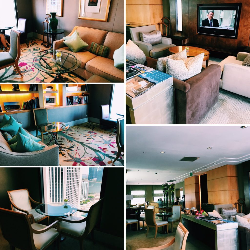 Conrad Singapore Executive Lounge