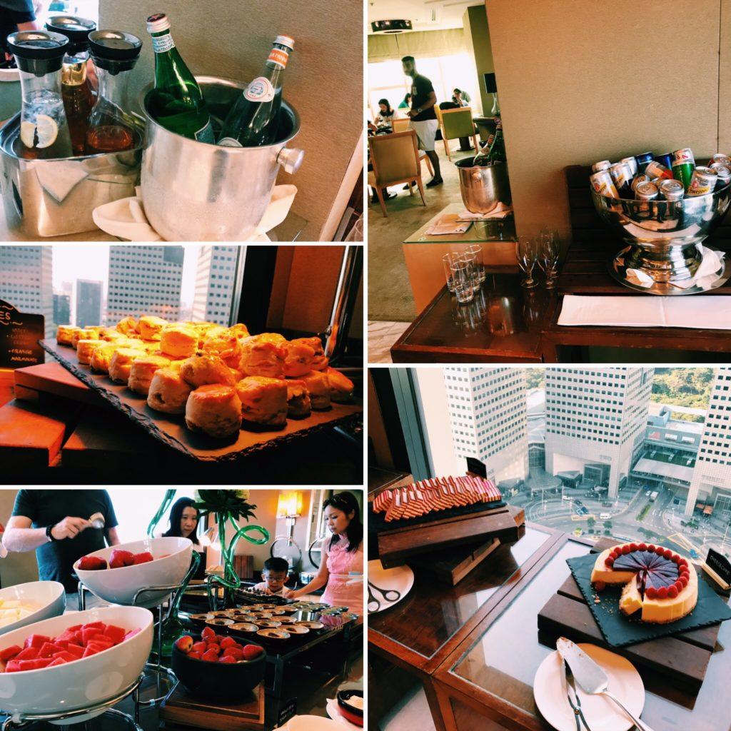 Conrad Singapore Executive Lounge Afternoon Tea