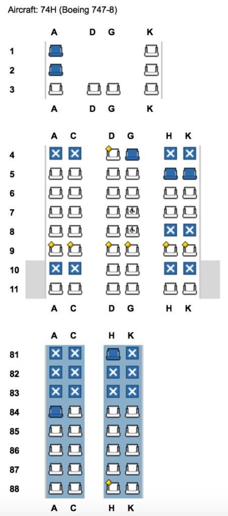 Lufthansa First Class zum Business Class Preis fliegen