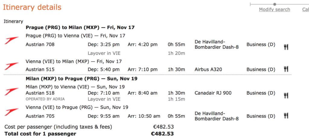 Lufthansa Statusmeilen sammeln in Europa