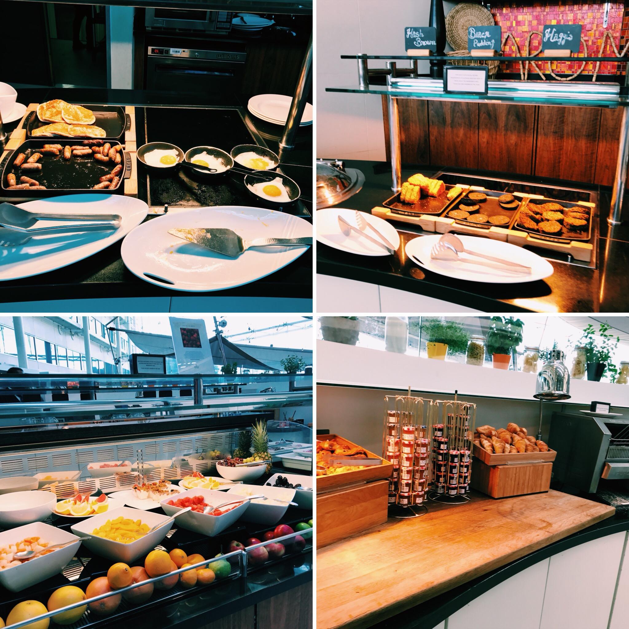 Hilton London Heathrow Terminal 4 Frühstück