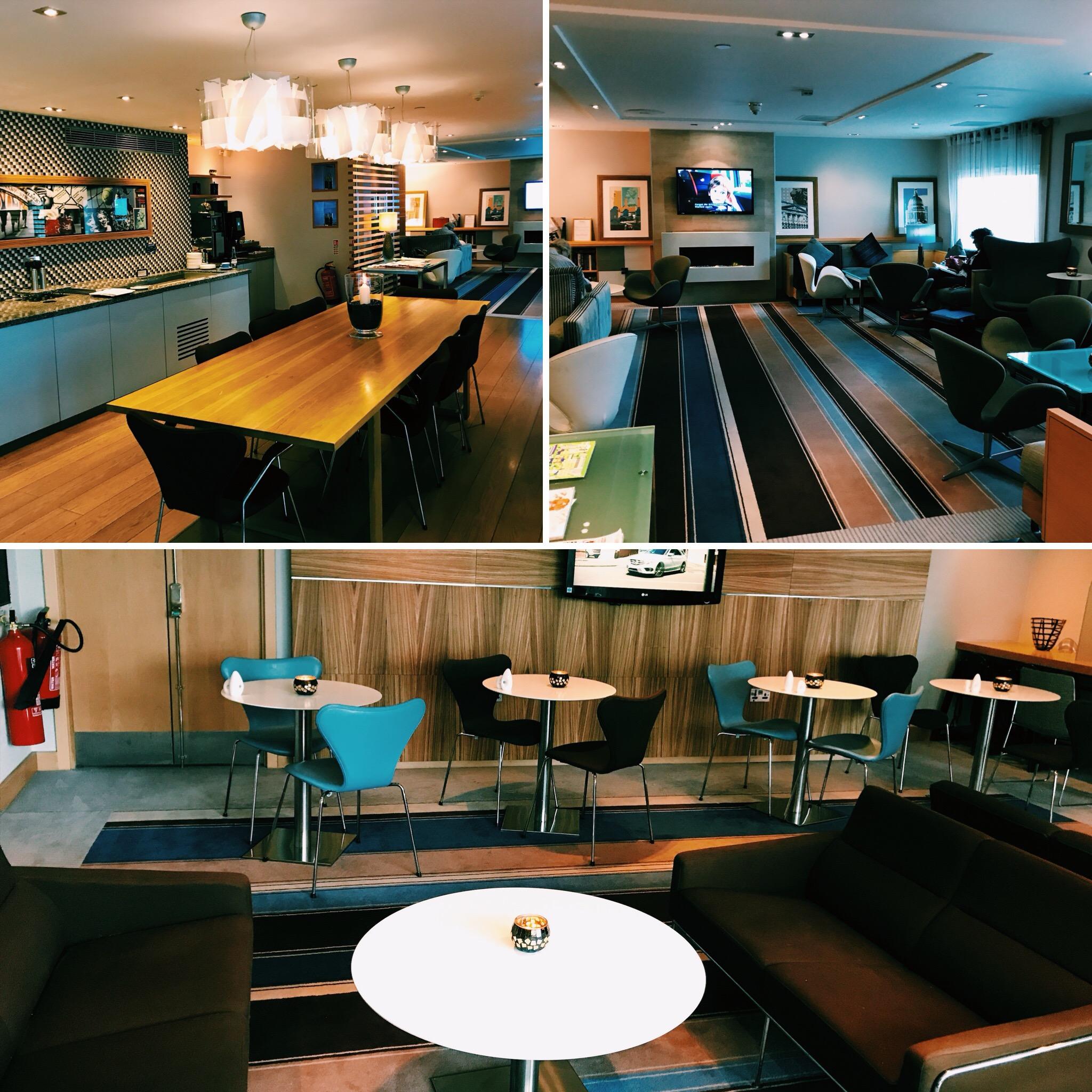 Hilton London Heathrow Terminal 4 Executive Lounge