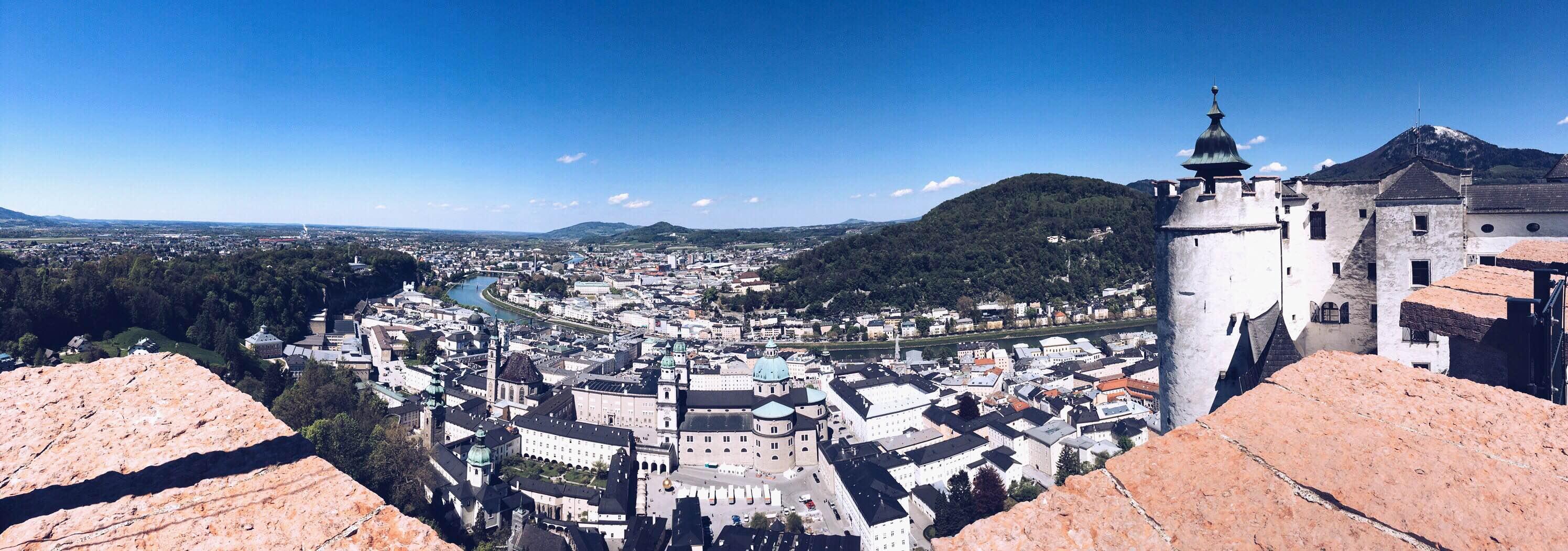 Ein perfekter Tag in Salzburg Ausblick