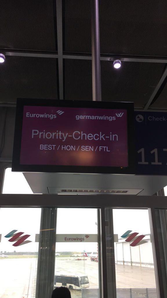 Eurowings Best Priority Check In